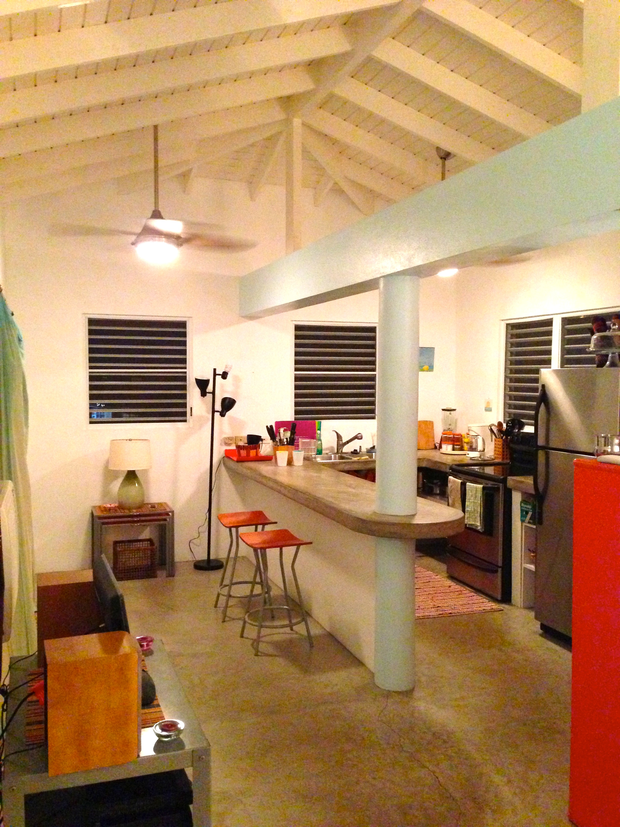 Loft For Two Pink House Vieques